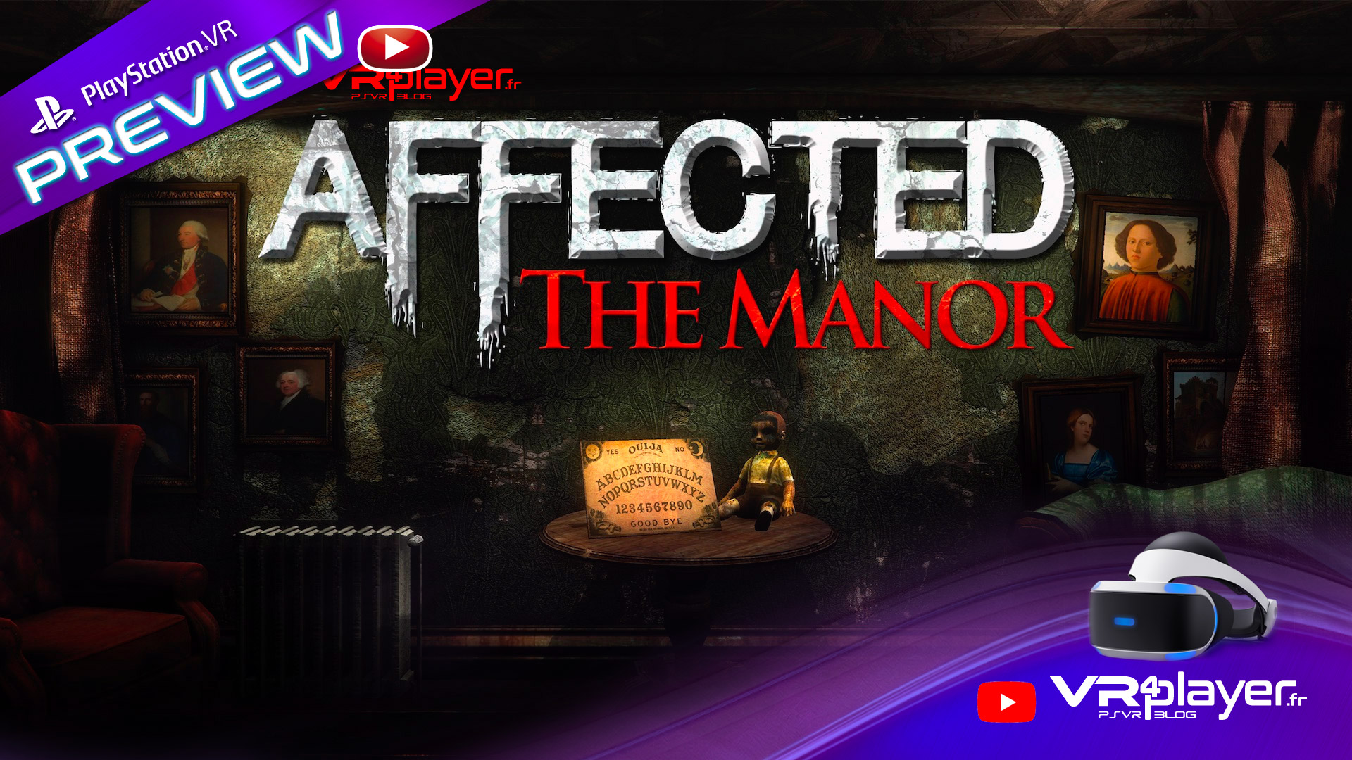 Affected the Manor sur PlayStation VR PSVR