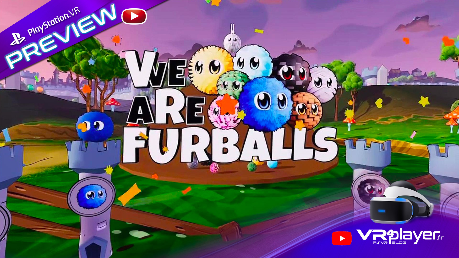 VR Furballs Demolition preview VR4player