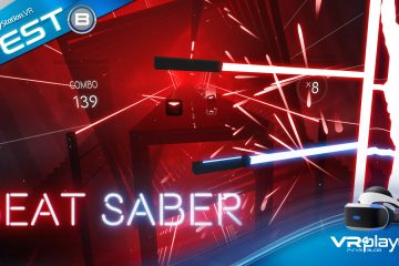 PlayStation VR : BEAT SABER, le test du jeu de performance par excellence du PSVR
