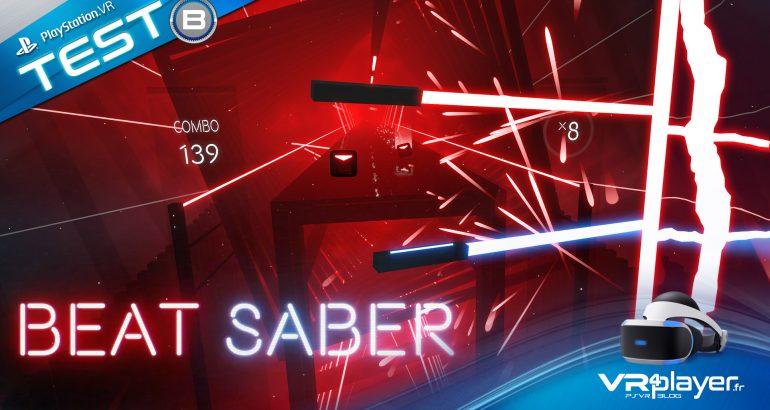 BEAT SABER en test sur PlayStation VR - vr4player.fr