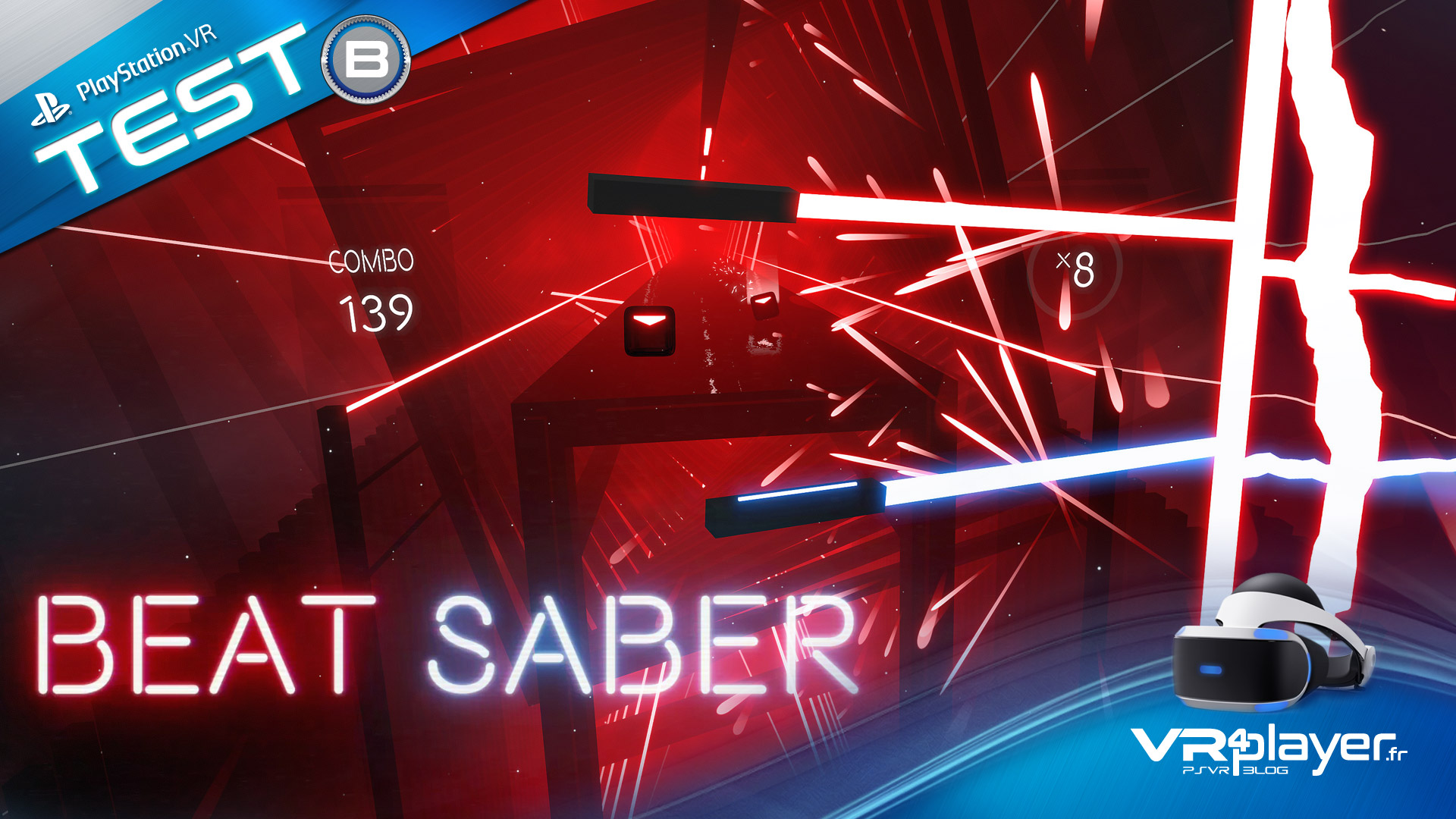 BEAT SABER en test sur PlayStation VR - vr4player.fr