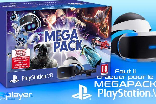 Méga Pack PSVR Megapack VR4player PlayStation VR