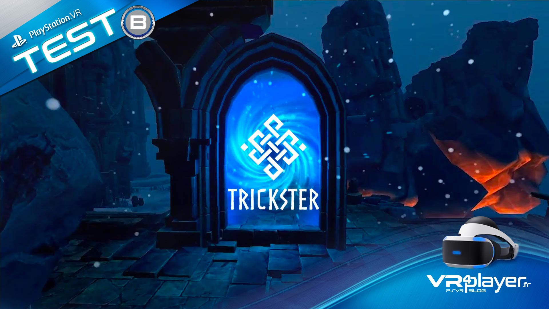 Trickster VR sur PlayStation VR PSVR VR4player.fr