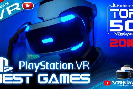 PlayStation VR : Le TOP 50 des meilleurs jeux du catalogue PSVR 2018