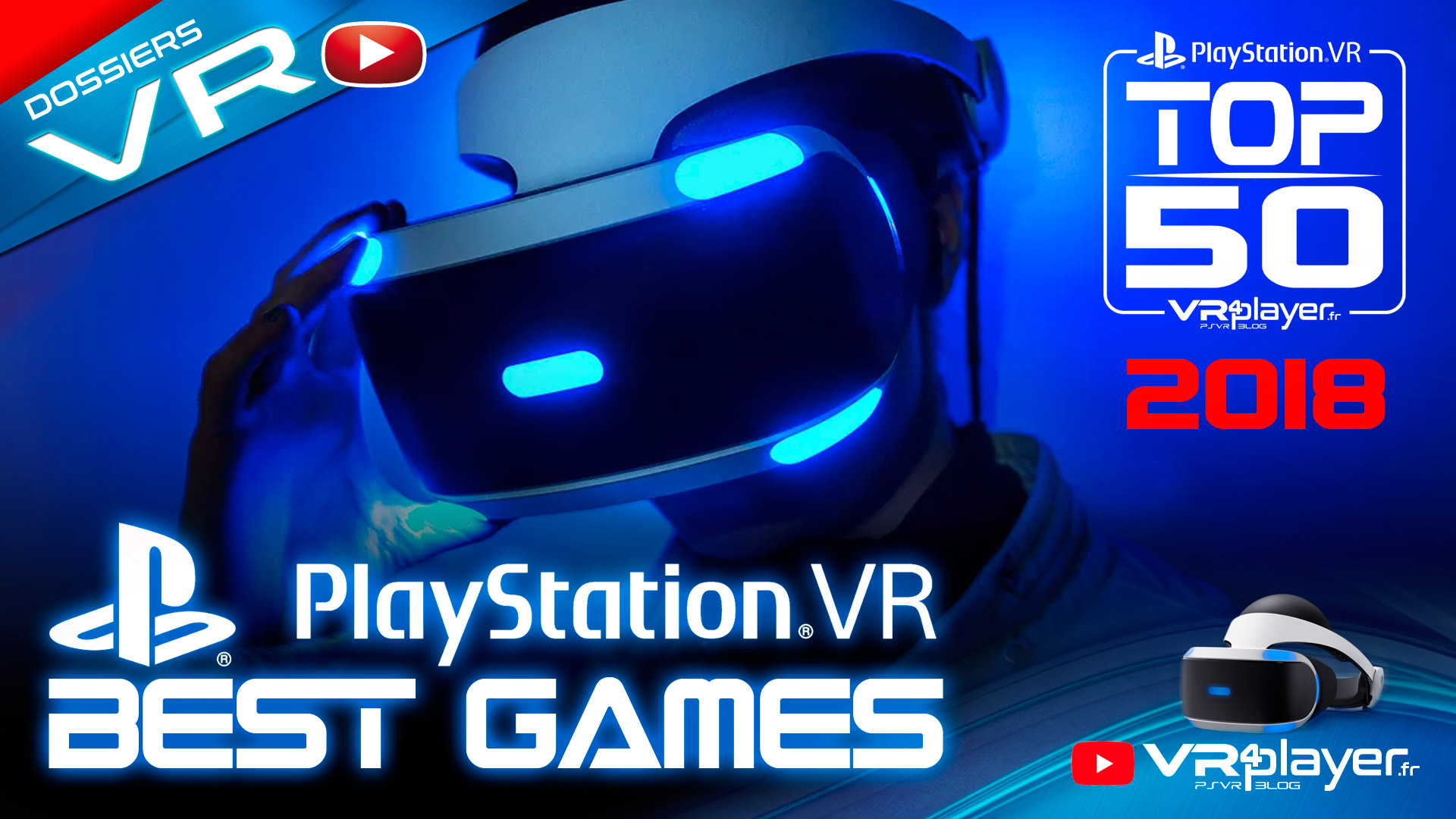 TOP 50 best games PSVR 2018 VR4player
