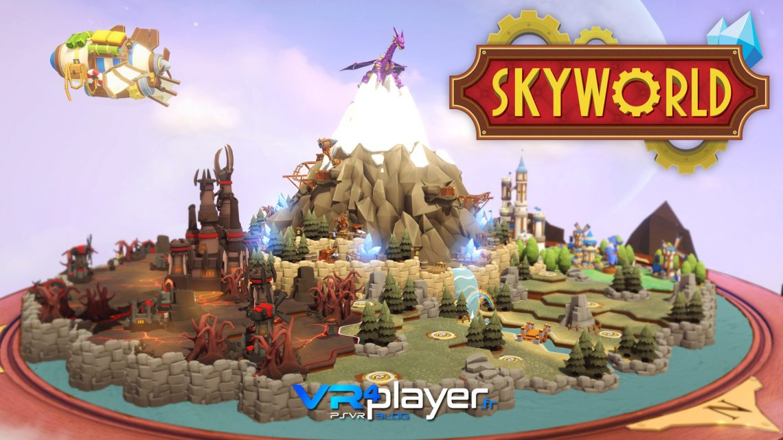 Skyworld PlayStation VR PSVR VR4player.fr