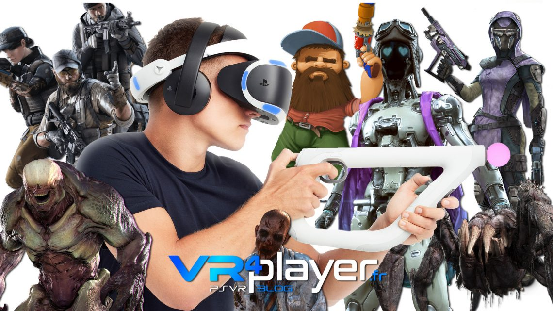Tous les jeux PSVR compatibles AIM Controler - vr4player.fr