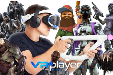 PlayStation VR : La liste des jeux PSVR jouables à l'Aim Controller