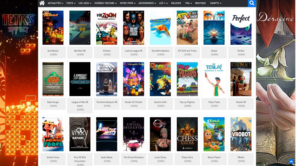 TOP 50 best games PSVR 2018 VR4player