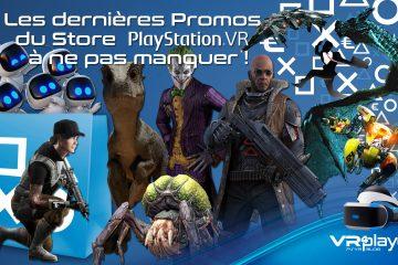 PlayStation VR : les promos PSVR du Black Friday sont lancées !