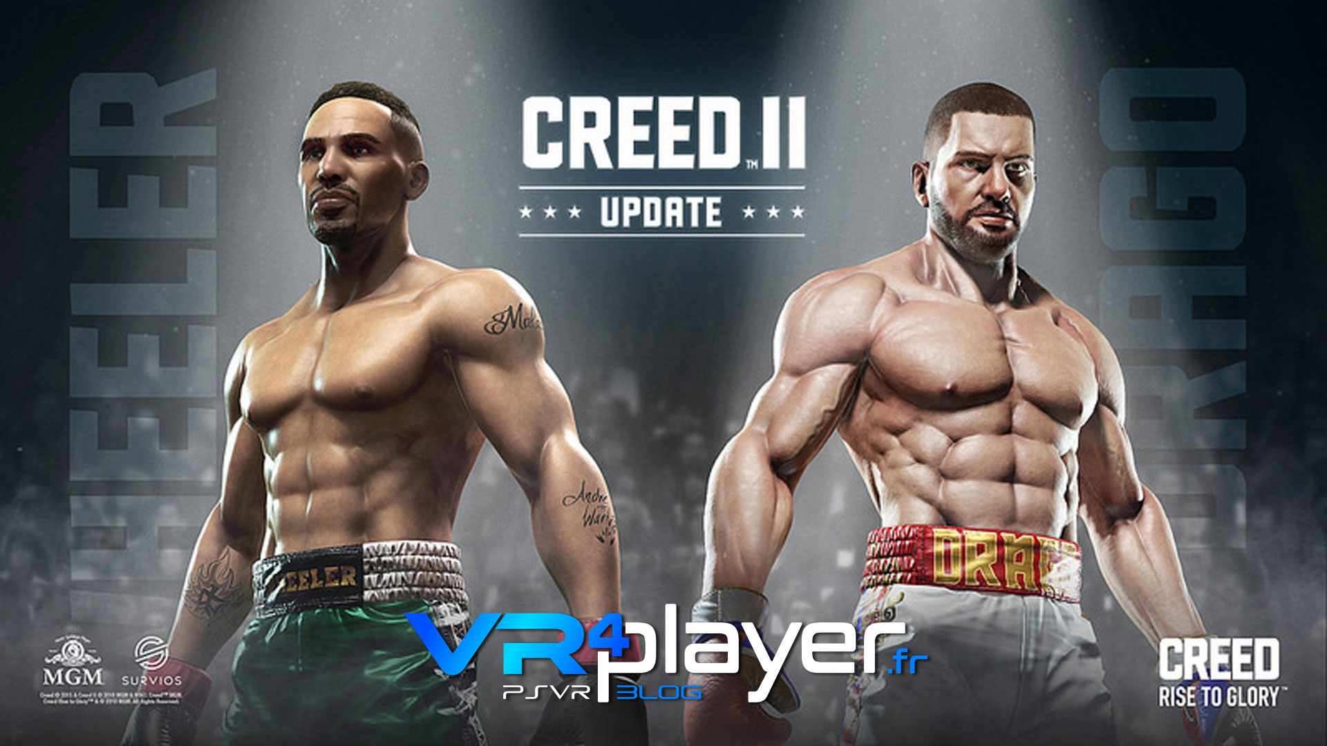 CREED, deux boxeurs gratuits en plus sur PSVR - vr4player.fr