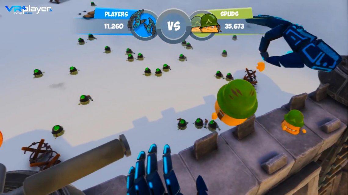 Spuds Unearthed sur PSVR VR4player.fr