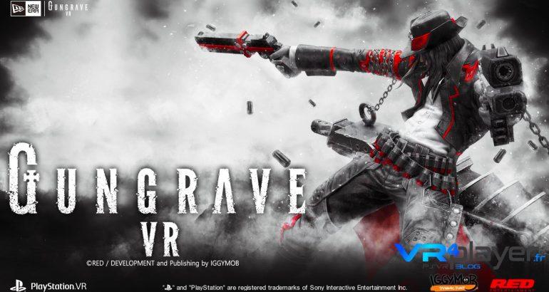 Gungrave VR sur PlayStation VR PSVR VR4player.fr