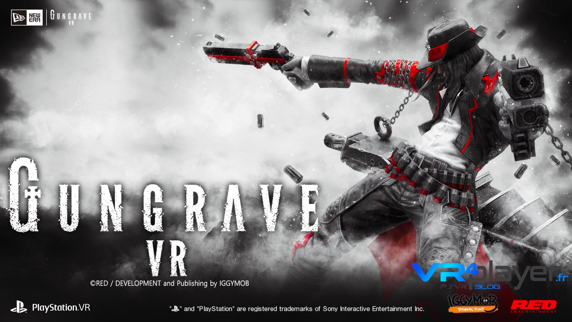 Gungrave VR sur PlayStation VR PSVR VR4player.fr