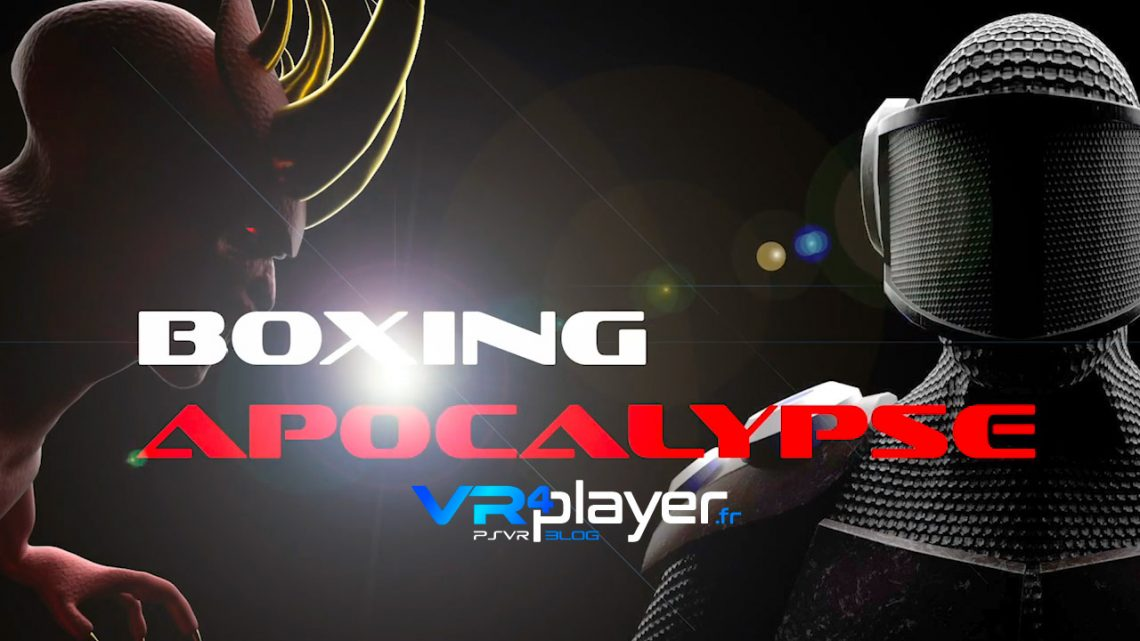 Boxing Apocalypse PlayStation VR PSVR