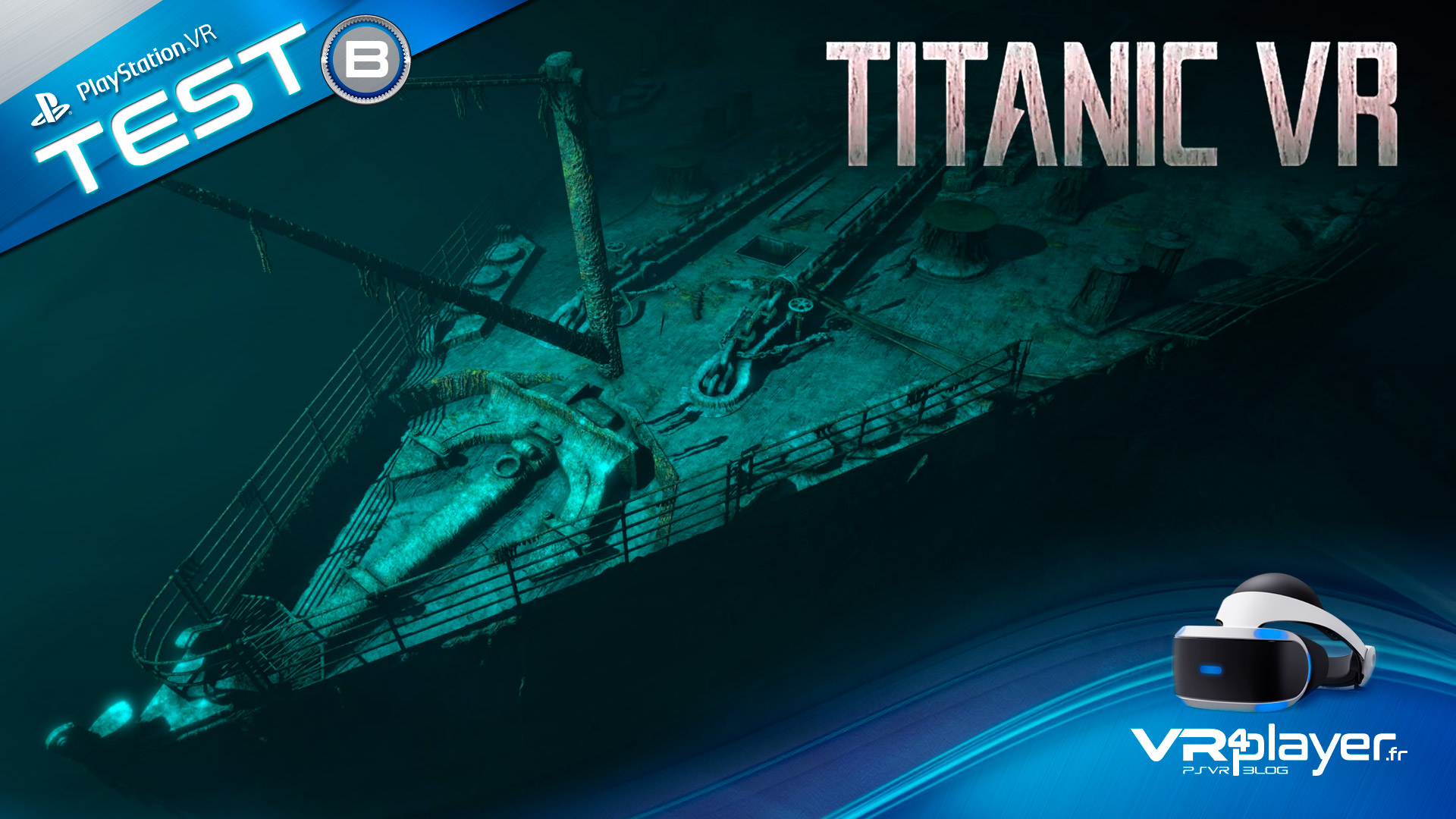 Titanic VR VR Immersive Education TEST Review VR4Player