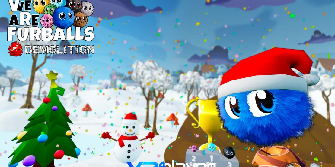 PlayStation VR, Steam : Mise à jour de Noël et Party Mode pour VR Furballs Demolition