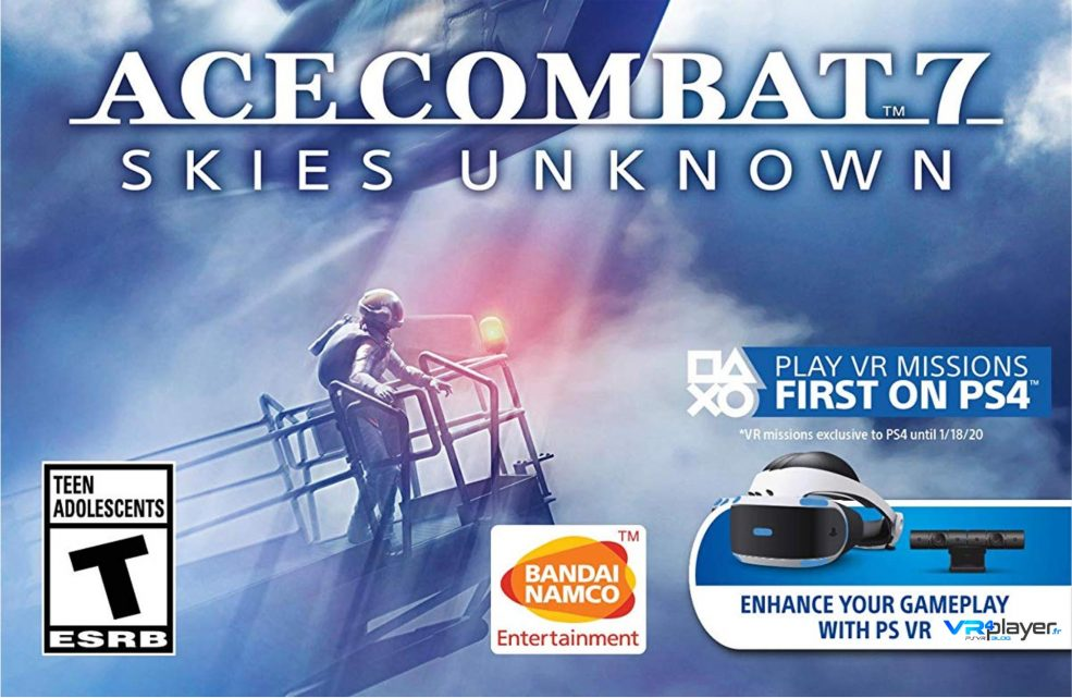 Ace Combat 7 PS4, PlayStation VR