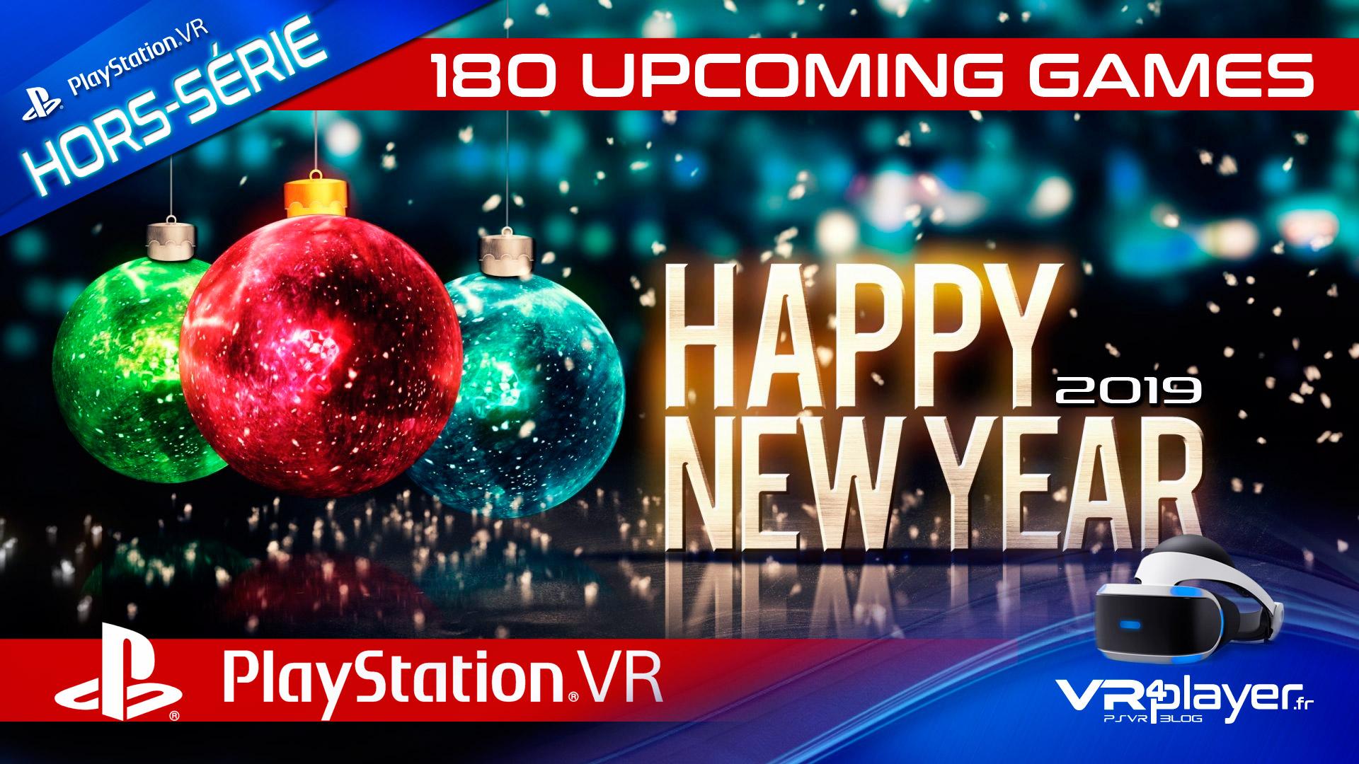 PlayStation VR - 180 jeux en développement VR4Player