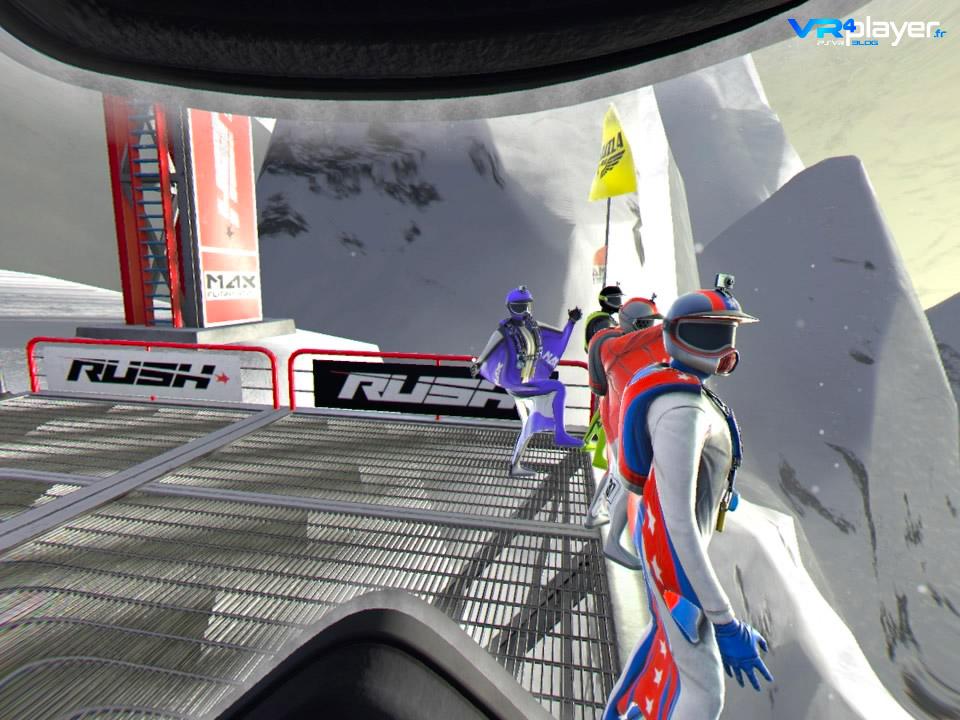 Rush VR sur PlayStation VR PSVR, le test VR4player.fr
