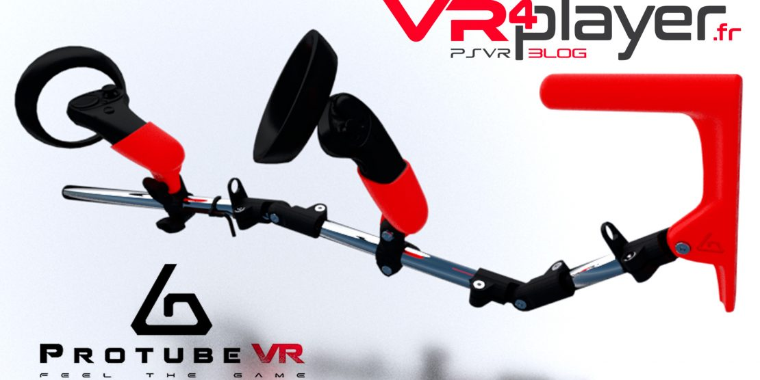 PlayStation VR : ProTube VR proposent maintenant leurs accessoires sur PSVR !