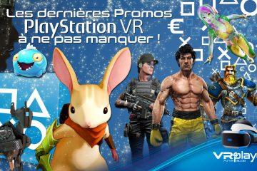 PlayStation VR : les promos de Noel sont lancées sur le Store PSVR !