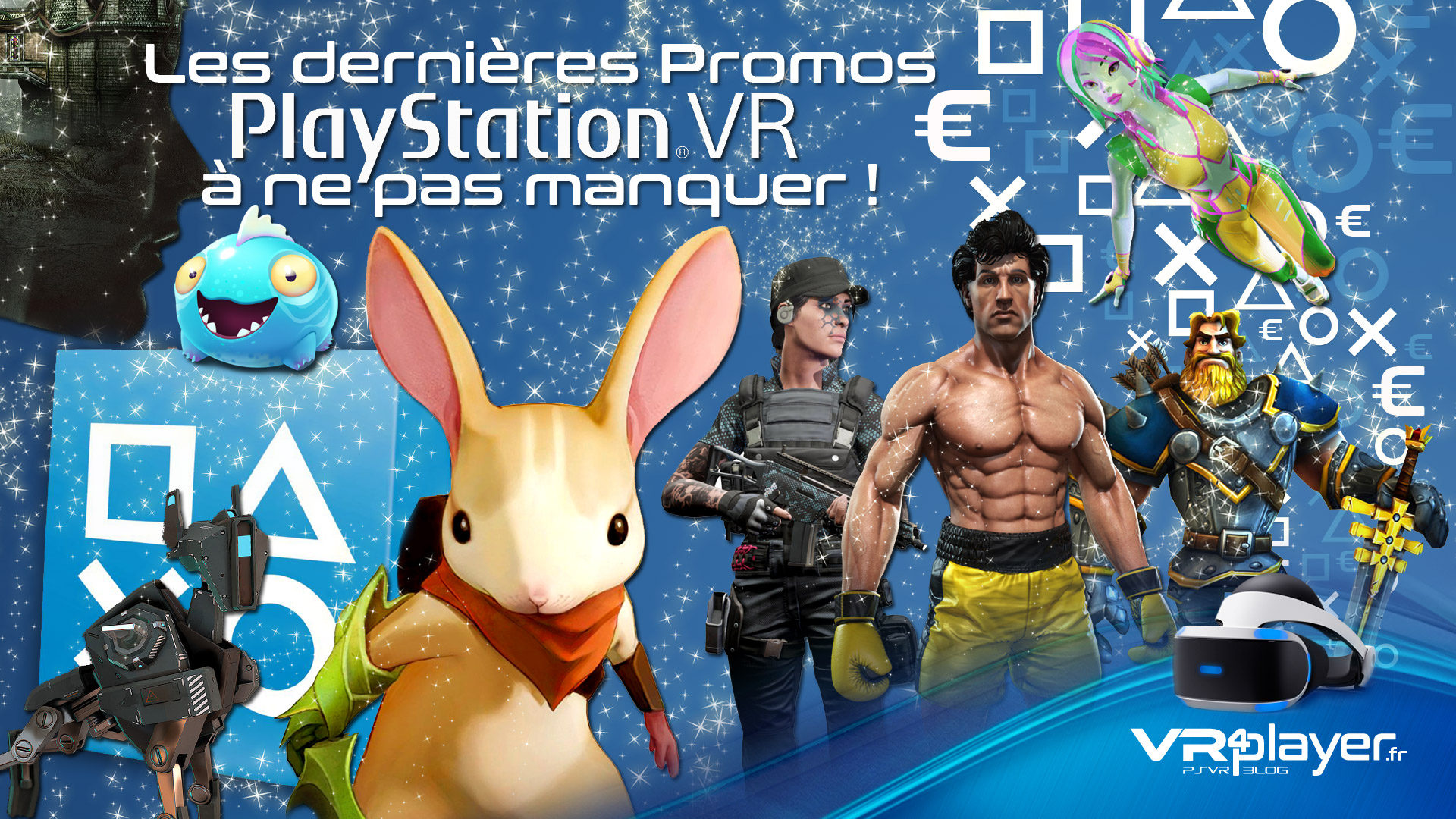 Les promos du Store PSVR sont lancées pour Noel - vr4player.fr