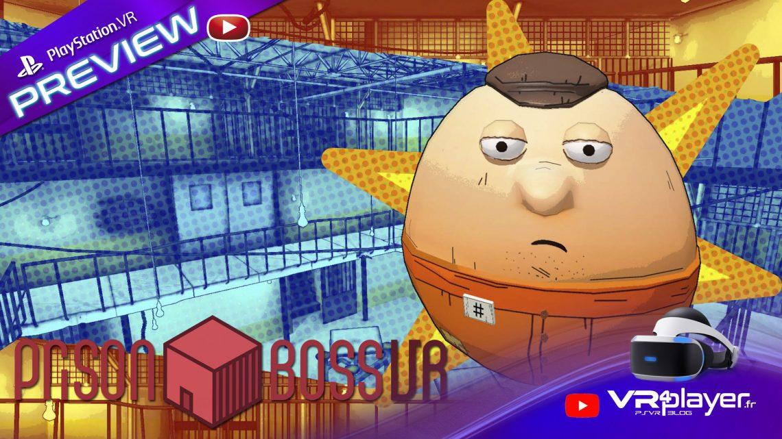 Preview de réclusion pour Prison Boss VR sur PSVR - vr4player.fr