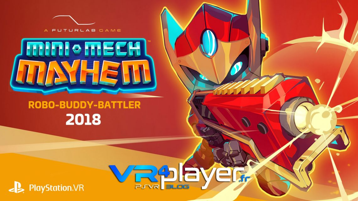 Mini Mech Mayhem en trailer PSVR - vr4player.fr