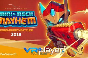PlayStation VR : Mini Mech Mayhem montre son gameplay en trailer PSVR
