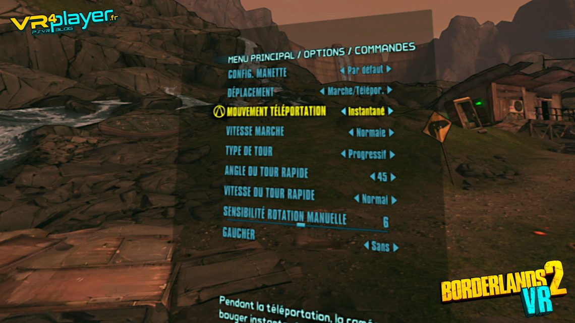 Borderlands 2 VR Preview VR4Player premières impressions