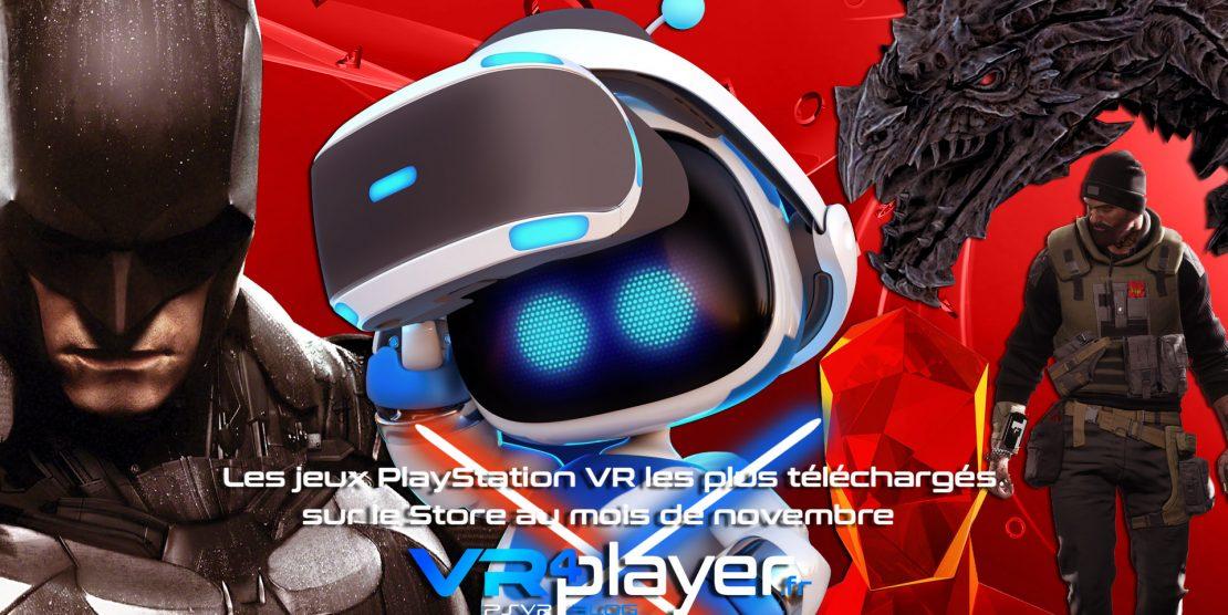 PlayStation VR : les meilleures ventes PSVR de novembre