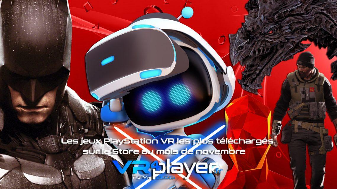 les meilleures ventes PSVR du mois de novembre - vr4player.fr