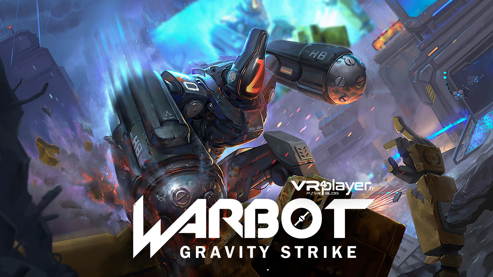 WarBot Gravity Strike PSVR PlayStation VR VR4Player