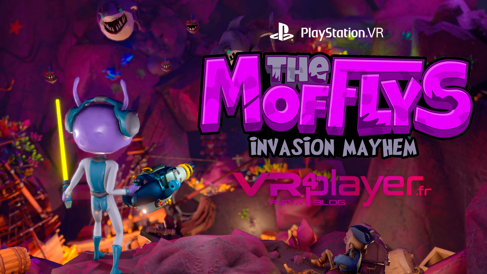 The Mofflys Invasion Mayhem PlayStation VR PSVR VR4Player