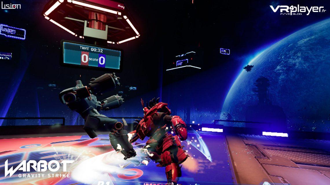 WarBot Gravity Strike PSVR PlayStation VR VR4Player