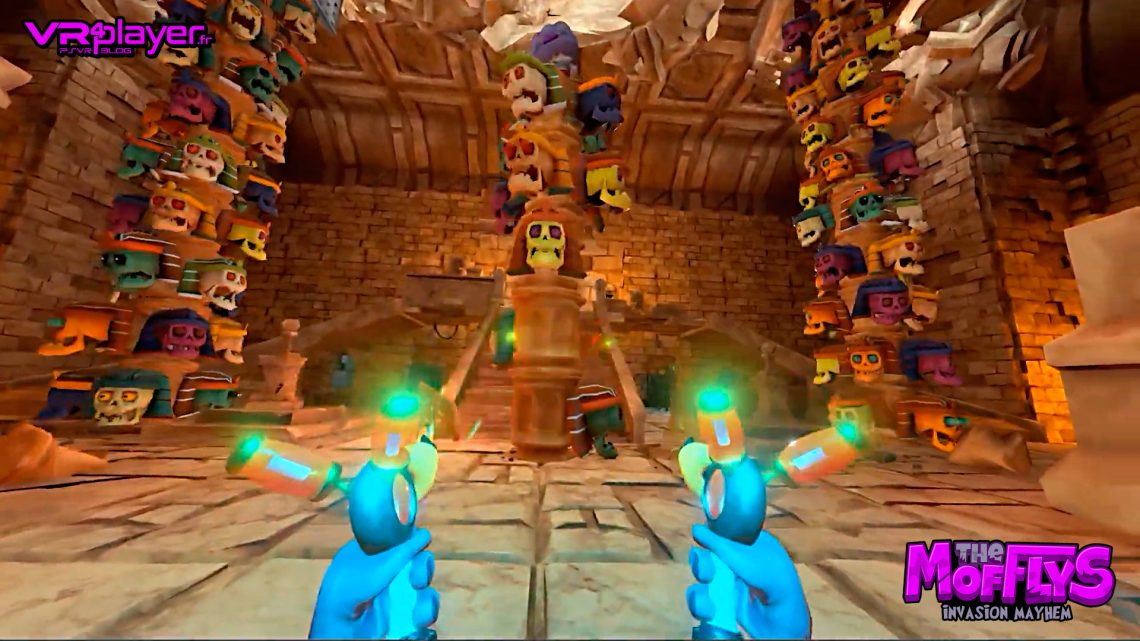 The Mofflys Invasion Mayhem PlayStation VR PSVR VR4Player