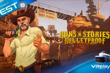PlayStation VR : Guns'n'Stories, Testé Colt en main sur PSVR