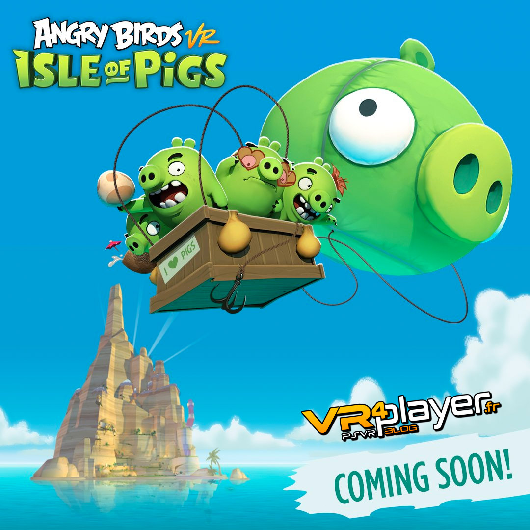Angry Birds Isle of Pigs VR PSVR VR4PLayer