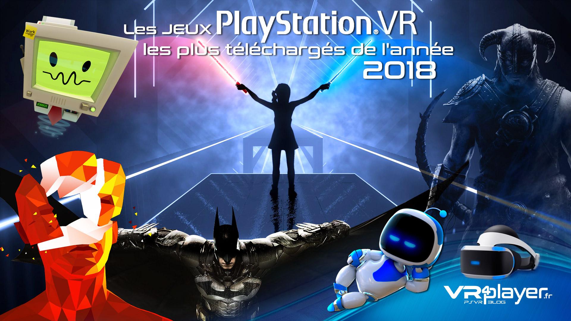 Les jeux PSVR les plus téléchargés de 2018 - vr4player.fr