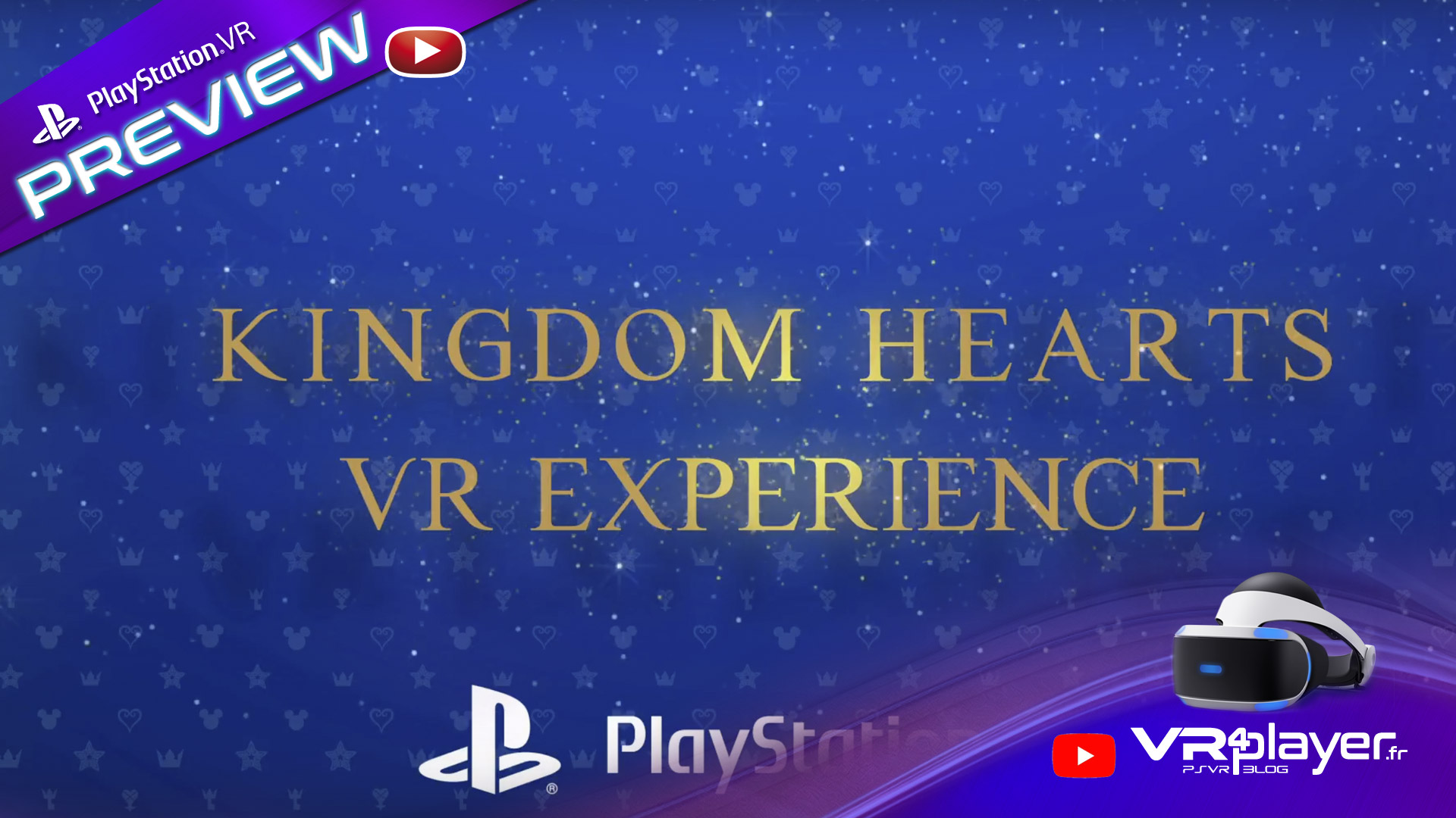 Kingdom Hearts VR Experience en preview - vr4player.fr