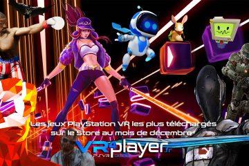 PlayStation VR : le Top des ventes PSVR du mois de décembre