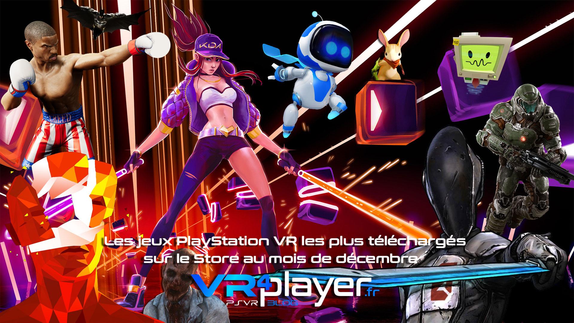 le top des ventes PlayStation VR de décembre - vr4player.fr