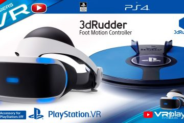 PlayStation VR : Le 3dRudder, l'alternative au problème des PS Move sur PSVR !