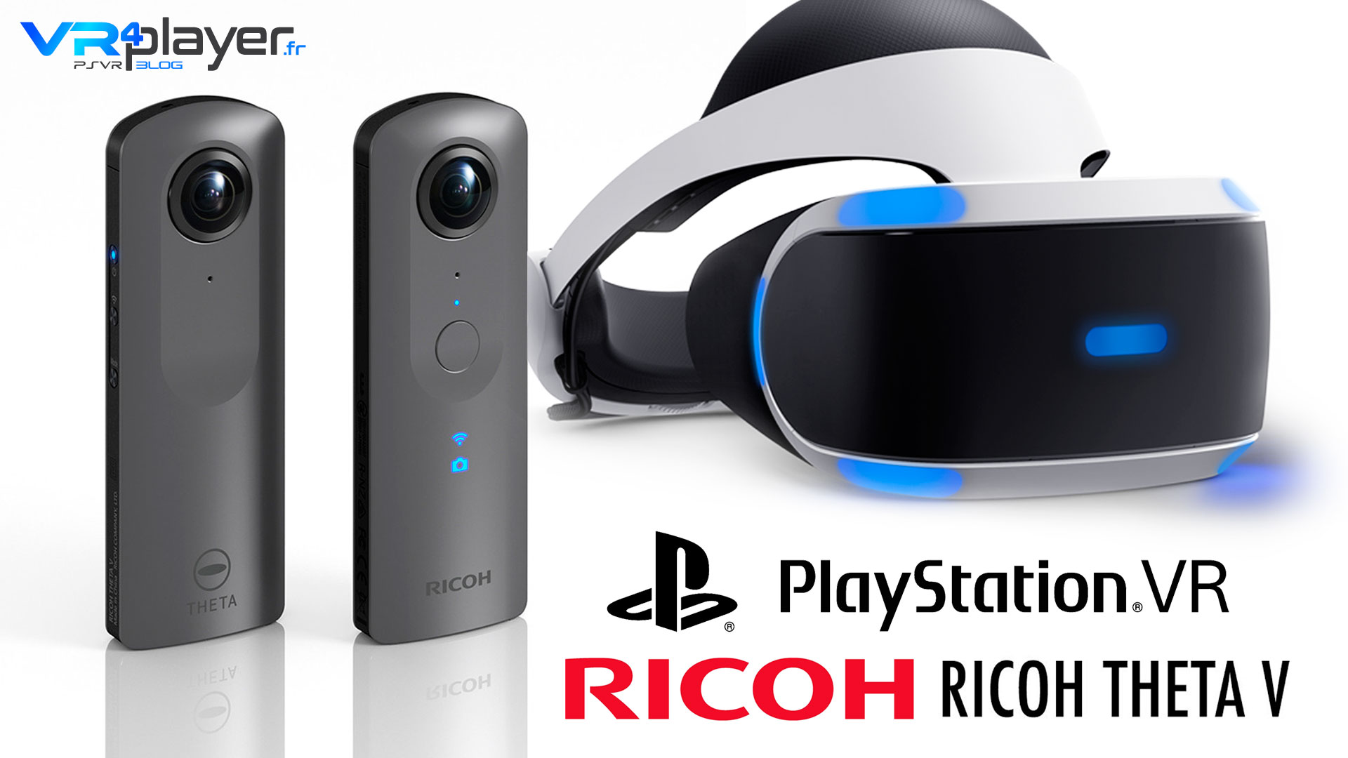 Ricoh Theta V PlayStation VR PSVR VR4player