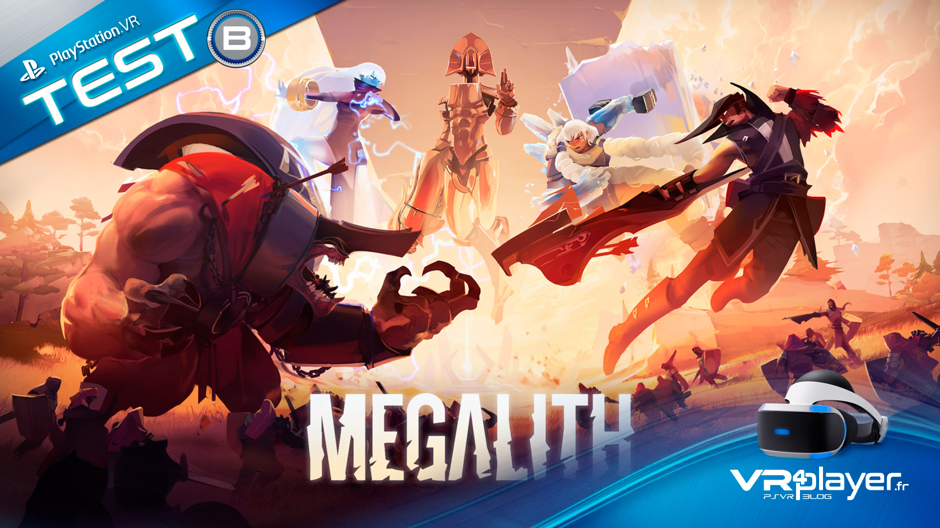 Megalith sur PlayStation VR, PSVR, Test VR4player.fr
