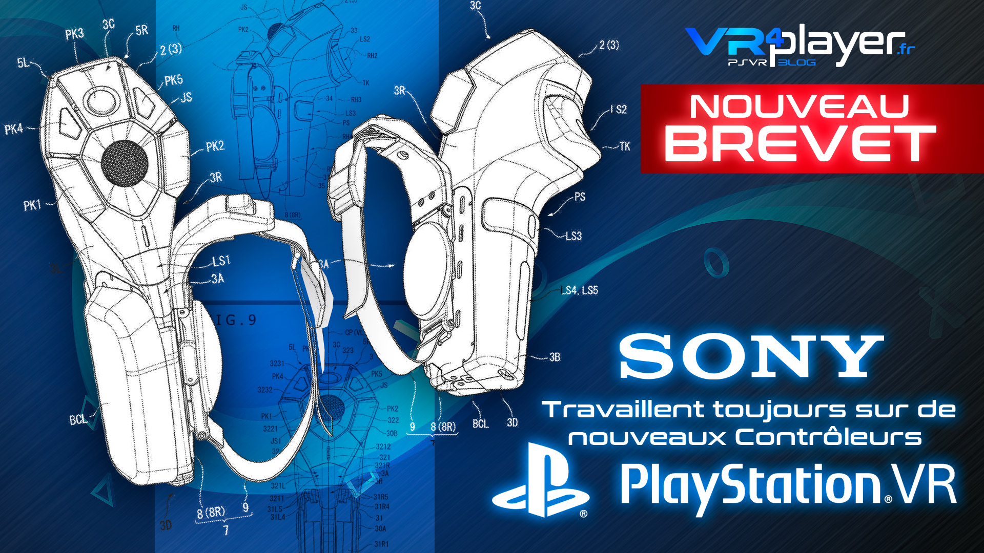PS Move 2 PlayStation VR 2 Brevet VR4Player