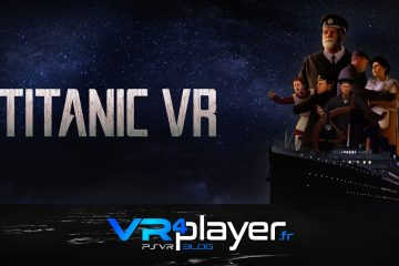PlayStation VR : Titanic VR sur PSVR met à flot VR Education Holding