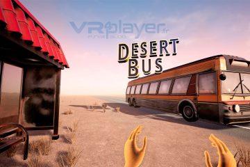 PlayStation VR : Desert Bus VR, un road trip aride sur PSVR