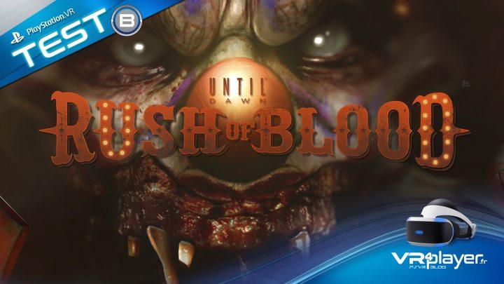test Until Dawn Rush of Blood sur PSVR vr4player.fr